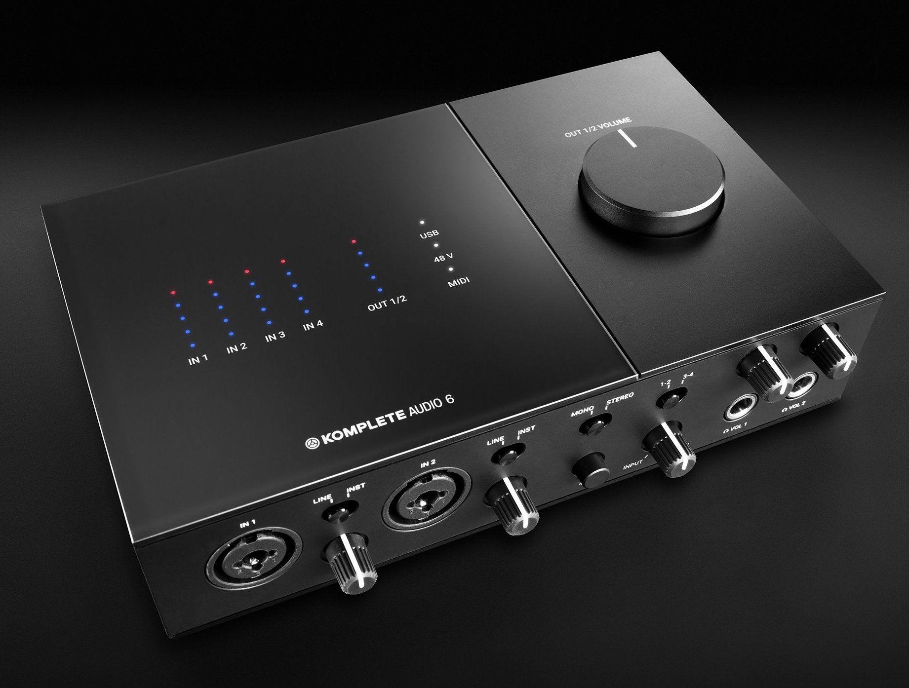 کارت صدا نیتیو اینسرومنت Native Instruments Komplete Audio 6 | خرید کارت صدا Komplete Audio 6 | کارت صدا استودیویی | Native Instruments Komplete Audio 6 MK2
