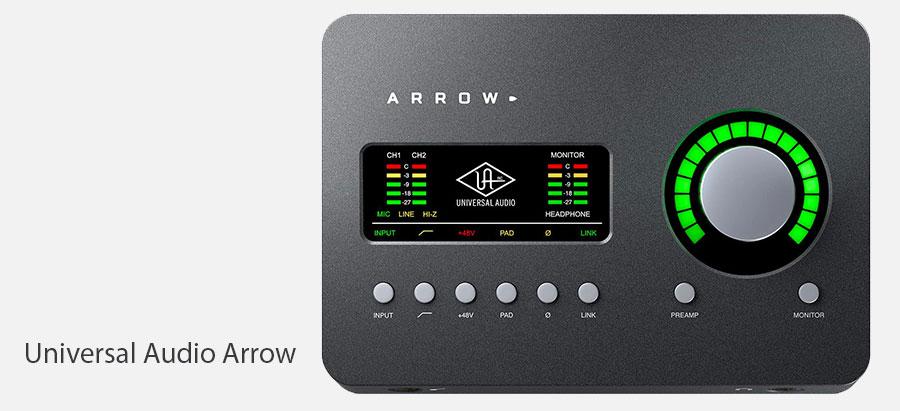 کارت صدا Universal Audio Arrow | کارت صدا یونیورسال آدیو | کارت صدا اکسترنال | کارت صدا | خرید کارت صدا Universal Audio Arrow | خرید کارت صدا | کالا استودیو