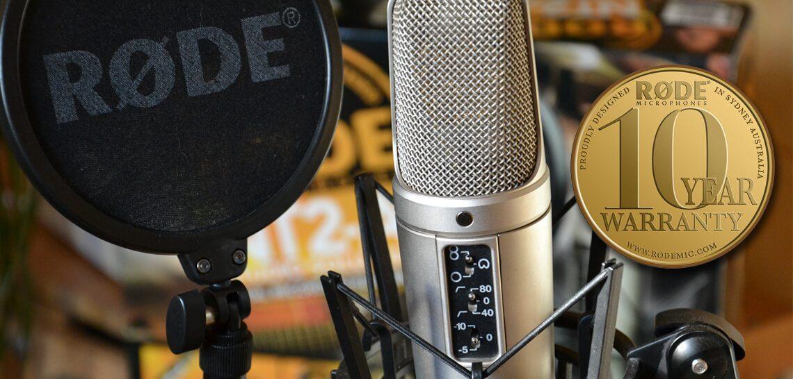 میکروفون رود Rode NT2-A Package   خرید میکروفون رود nt2a   خرید میکروفون رود ان تی دو   خرید میکروفون استودیویی رود   خرید میکروفون rode   فروشگاه اینترنتی کالا استودیو