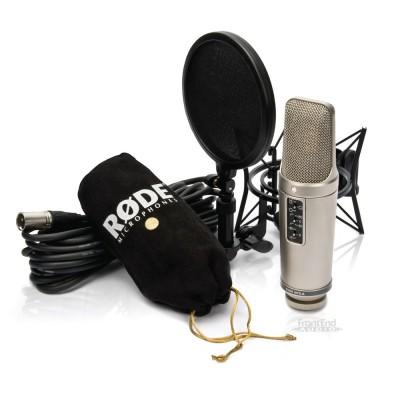 میکروفون کارکرده در حد نو Rode NT2-A Package