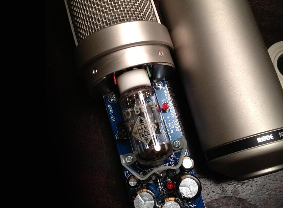 میکروفون Rode NTK   خرید میکروفون رود Rode NTK   رود Rode NTK یک میکروفون لامپی کلاس A و برنده جوایز متعدد است   خرید میکروفون استودیویی   کالا استودیو