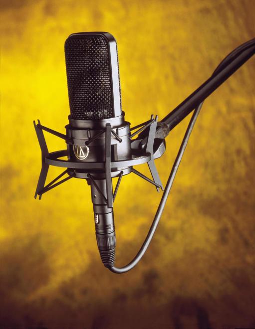 میکروفون Audio Technica AT4033ASM   خرید میکروفون آدیو تکنیکا 4033   AT 4033ASM یک گزینه مناسب برای حرفه ای ها است   خرید میکروفون استودیویی   کالا استودیو