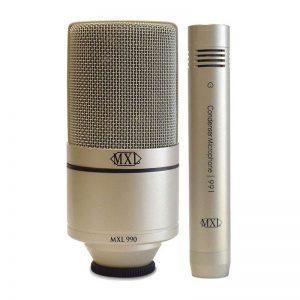 میکروفون MXL 990/991 | خرید میکروفون ام ایکس ال 990/991 | خرید میکروفون دوتایی MXL | خرید میکروفون دو قلو ام ایکس ال | کالا استودیو