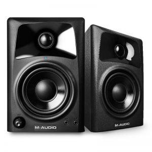 اسپیکر مانیتورینگ M-Audio AV42 | خرید اسپیکر مانیتورینگ ارزان | اسپیکر مانیتورینگ | M-Audio AV42 | خرید اسپیکر مانیتورینگ کترکرده در کالا استودیو