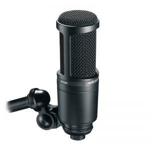 میکروفون آدیو تکنیکا Audio-Technica AT2020   خرید میکروفون Audio-Technica AT2020   خرید میکروفون استودیویی   خرید میکروفون   میکروفون کاندنسر استودیویی