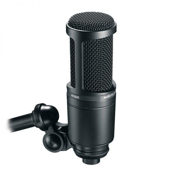 میکروفون آدیو تکنیکا Audio-Technica AT2020 | خرید میکروفون Audio-Technica AT2020 | خرید میکروفون استودیویی | خرید میکروفون | میکروفون کاندنسر استودیویی