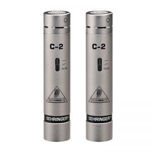 میکروفون Behringer C2 | خرید میکروفون ساز بهرینگر C2 | خرید میکروفون استودیویی | میکروفون مخصوص ساز بهرینگر | کالا استودیو