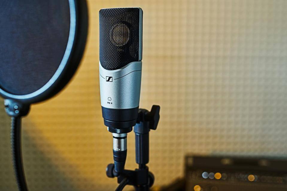 میکروفون Sennheiser MK4 | خرید میکروفون سنهایزر MK4 | خرید میکروفون استودیویی | Sennheiser MK4 | میکروفن صدابرداری | میکروفون مارک سنهایزر | کالا استودیو