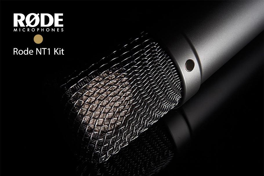 میکروفون رود RODE NT1 KIT   میکروفن   خرید میکروفون رود ان تی وان کیت   خرید میکروفون استودیویی رود   میکروفون رود NT1 KIT   میکروفون کاندنسر   میکروفون