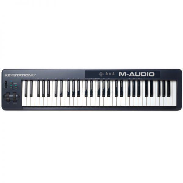 میدی کنترلر M-Audio KeyStation 61 MKII | میدی کنترلر | خرید میدی کنترلر | خرید و فروش انوع میدی کنترلر نو و کارکرده | خرید میدی کنترلر M-Audio