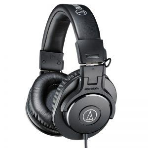 هدفون Audio-Technica ATH-M30x   خرید هدفون آدیو تکنیکا M30x   خرید هدفون مانیتورینگ   خرید تجهیزات استودیویی   هدفون میکس و مسترینگ   کالا استودیو