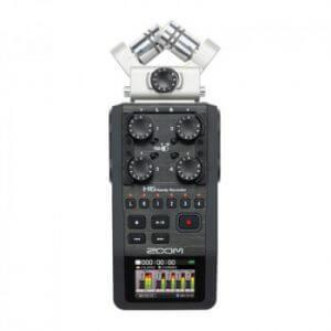 رکوردر صدا ZOOM H6   خرید رکوردر صدا ZOOM H6   خرید کارت صدا   خرید رکوردر زوم   خرید تجهیزات صدابرداری   خرید میکروفون استودیویی   رکوردر   کالا استودیو