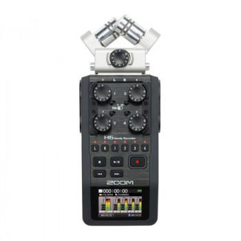 رکوردر صدا ZOOM H6 | خرید رکوردر صدا ZOOM H6 | خرید کارت صدا | خرید رکوردر زوم | خرید تجهیزات صدابرداری | خرید میکروفون استودیویی | رکوردر | کالا استودیو