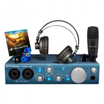 پکیج استودیویی Presonus AudioBox Itow studio | کارت صدا استودیویی | خرید پکیج استودیویی | خرید و فروش انواع تجهیزات استودیویی نو و کارکرده | کارت صدا