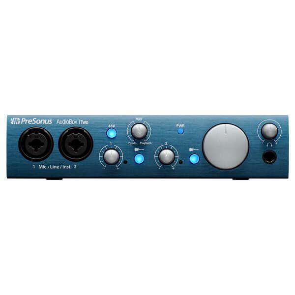 پکیج استودیویی Presonus AudioBox Itow studio