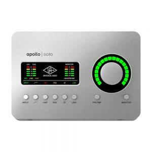 کارت صدا یونیورسال Universal Audio Apollo Solo USB3 | خرید کارت صدا آپولو | کارت صدا آپولو سولو | خرید کارت صدا | Apollo Solo USB3 | کارت صدا | کالا استودیو