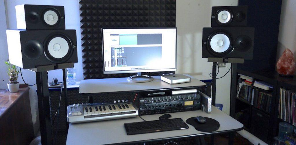 تکنیک هایی برای گذاشتن اسپیکر مانیتورینگ در استودیو | اینکه در استودیو خود چگونه اسپیکر هارا در جای مناسبی قرار دهیم بسیار مهم و ضروری است | فروشگاه اینترنتی کالا استودیو | مقاله موسیقی