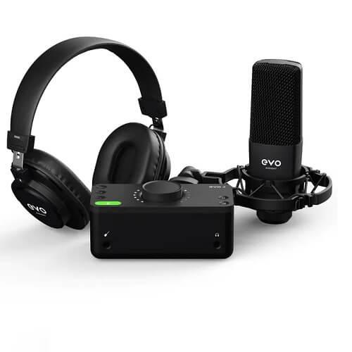 پکیج استودیویی Audient EVO Starter Pack