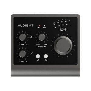 کارت صدا   کارت صدا آدینت Audient iD4 Mk2   خرید کارت صدا   فروشگاه اینترنتی کالا استودیو