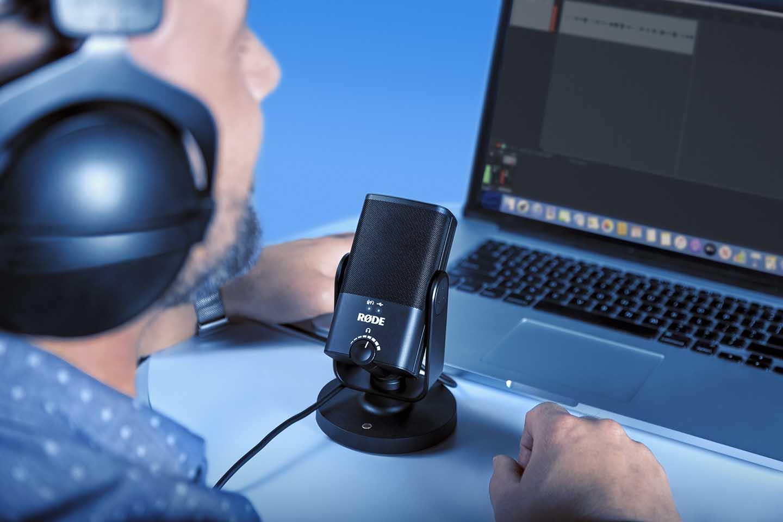 میکروفون یو اس بی رود Rode NT-USB Mini یک محصول با کیفیت و قیمت مناسب میباشد که از طریق پورت یو اس بی به سیستم شما متصل میشود... | خرید میکروفون استودیویی یو اس بی | خرید میکروفون رود | میکروفون برای پادکست | فروشگاه اینترنتی کالا استودیو