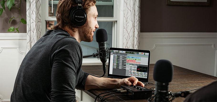 کارت صدا ام آدیو M-Audio M-Track Duo یک محصول با کیفیت و حرفه ای با ورودی خروجی بالا میباشد که قیمت آن مناسب بوده و ارزش خرید بالایی دارد | خرید کارت صدا ارزان | کارت صدا ام آدیو M-Audio M-Track Duo | خرید کارت صدا | فروشگاه اینترنتی کالا استودیو